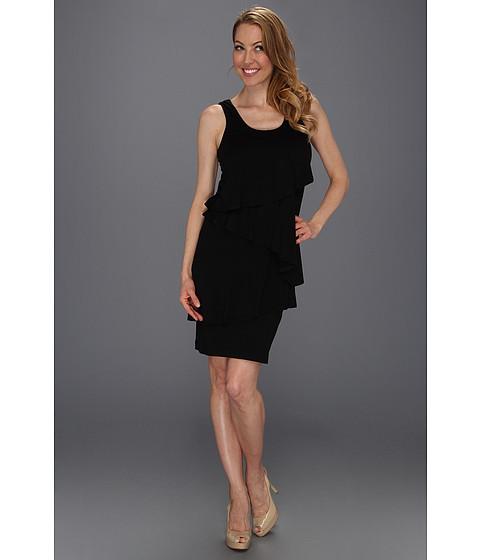 Rochii Karen Kane - Asymmetric Tier Dress - Black