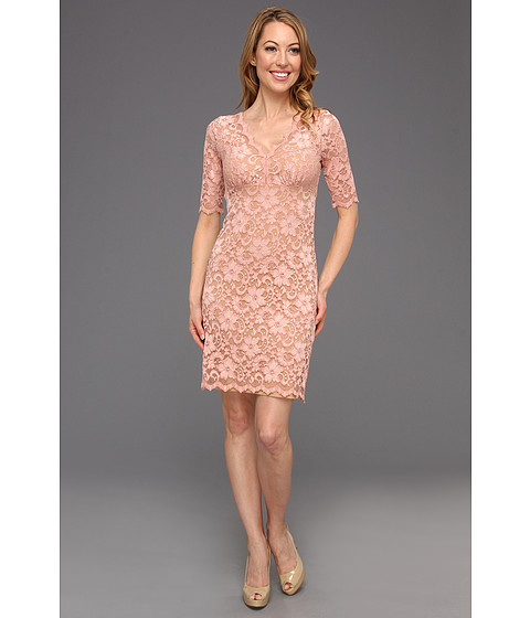 Rochii Karen Kane - Lace Dress - Peach