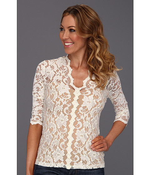Bluze Karen Kane - Kate Lace Top - Cream