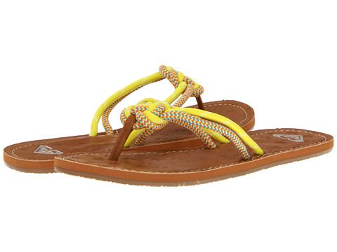Sandale Roxy - Trapeze - Neon Yellow
