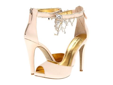 Pantofi Nine West - JungleRed - Light Pink Satin