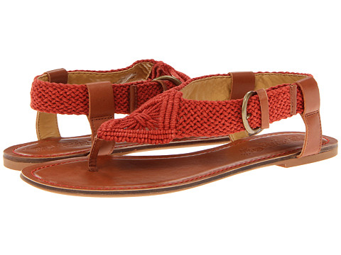 Sandale Nine West - Pipp - Red/Brown Fabric