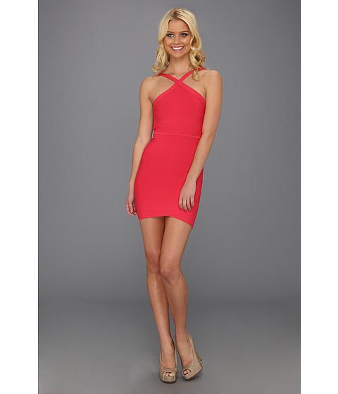 Rochii BCBGMAXAZRIA - Sugi Crisscross Halter Dress - Lipstick Red