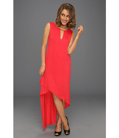 Rochii BCBGMAXAZRIA - Willow Asymmetrical Dress - Lipstick Red
