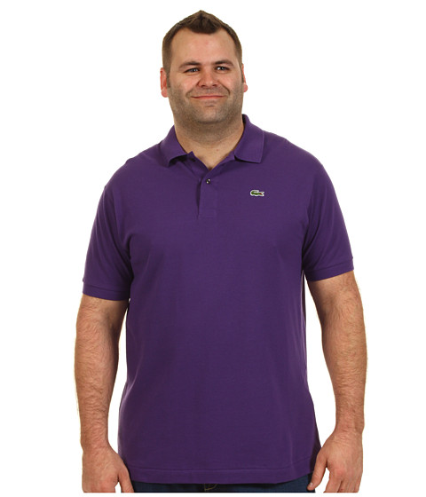 Tricouri Lacoste - Big S/S Classic Pique Polo Shirt - Quartz Purple