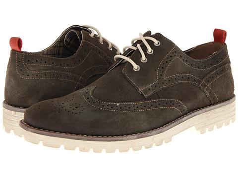 Pantofi Hush Puppies - 1958 - Brogue Lug - Charcoal Suede