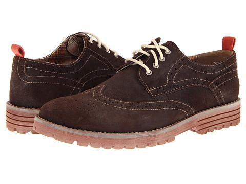 Pantofi Hush Puppies - 1958 - Brogue Lug - Dark Brown Suede