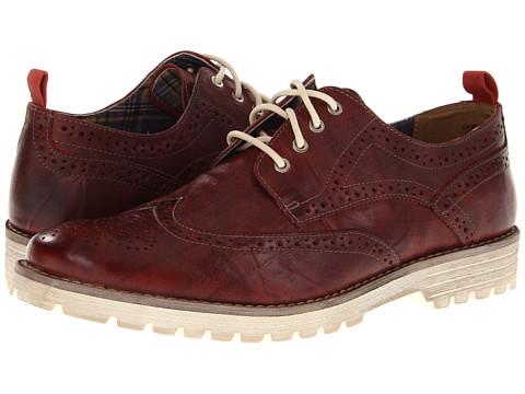 Pantofi Hush Puppies - 1958 - Brogue Lug - Red Leather