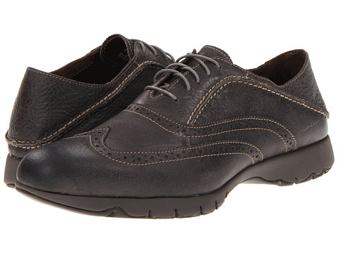 Pantofi Hush Puppies - FIVE-Brogue - Charcoal Leather