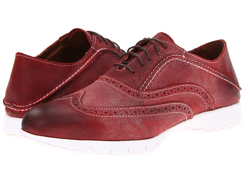 Pantofi Hush Puppies - FIVE-Brogue - Red Suede
