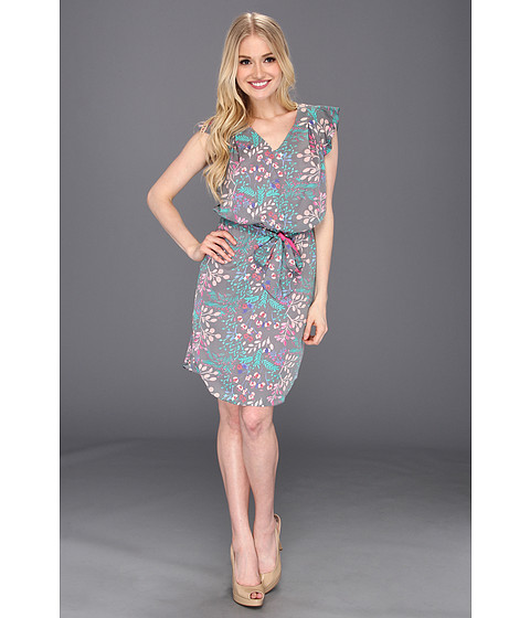 Rochii Jessica Simpson - Flutter Sleeve Dress with Shirttail Hem - Capricious Cabaret