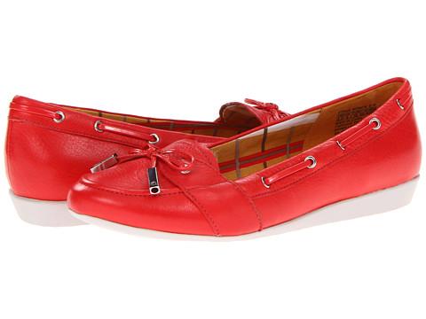 Balerini Rockport - Shehera Boat Shoe - Poppy Red