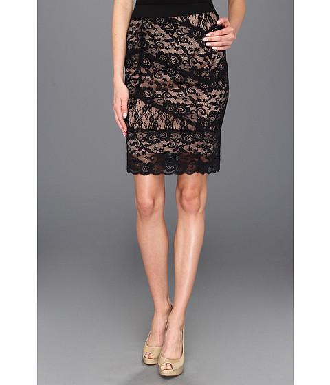 Fuste Brigitte Bailey - Caresse Lace Pencil Skirt - Black