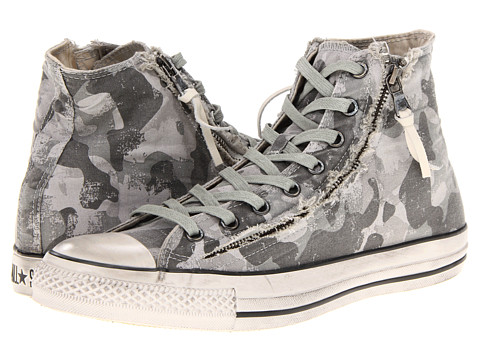 Adidasi Converse - Chuck Taylor All Star Double Zip Hi - Turtledove