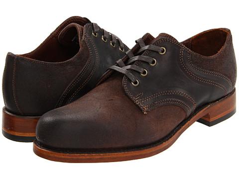 Pantofi Frye - Arkansas Saddle - Dark Brown