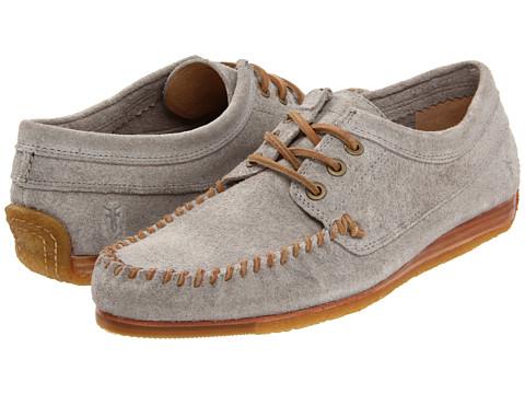 Pantofi Frye - Austin Oxford - Grey/Suede