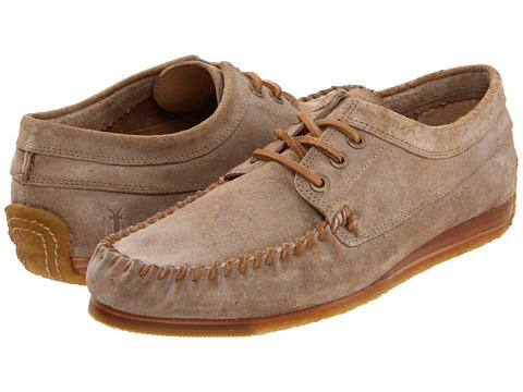 Pantofi Frye - Austin Oxford - Sand/Suede