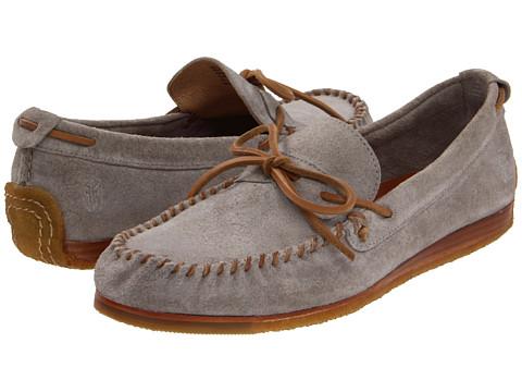 Pantofi Frye - Austin Tie - Grey/Suede
