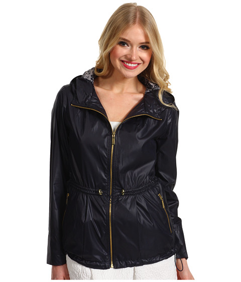Jachete Ivanka Trump - Short Coated Poly Anorak - Navy