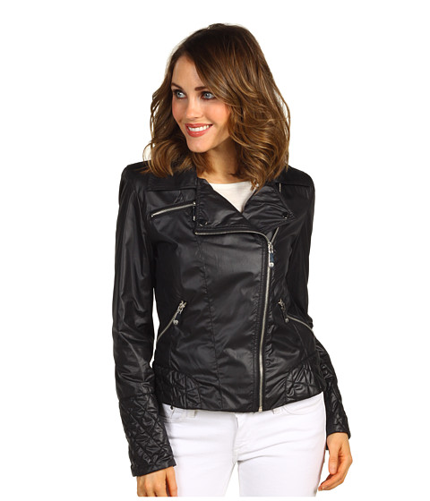Jachete Vince Camuto - Short Motorcycle Jacket - Black
