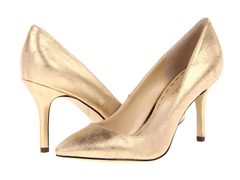 Pantofi Enzo Angiolini - Call Me 2 - Light Gold Fabric