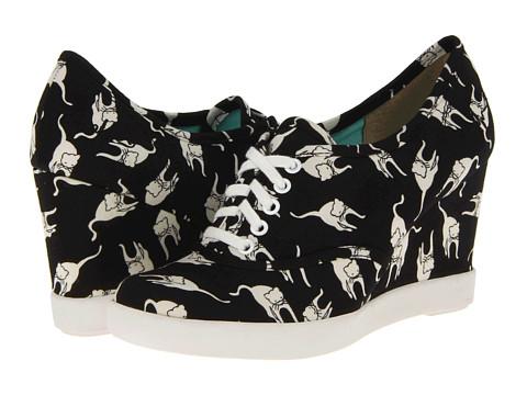 Adidasi BC Footwear - Merry - Black Cat Print