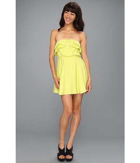 Rochii BCBGeneration - Flounce Bodice Dress - Ultra Lime