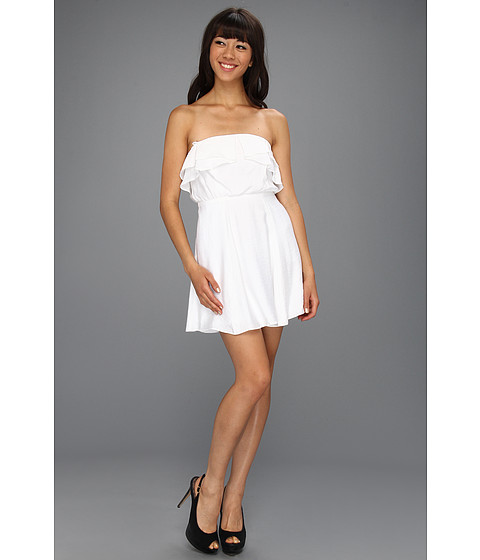 Rochii BCBGeneration - Flounce Bodice Dress - White