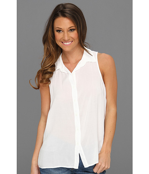 Camasi Splendid - Shirting Button Up Tank - White