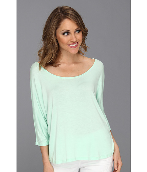 Bluze Culture Phit - Chaney 3/4 Sleeve Top - Mint