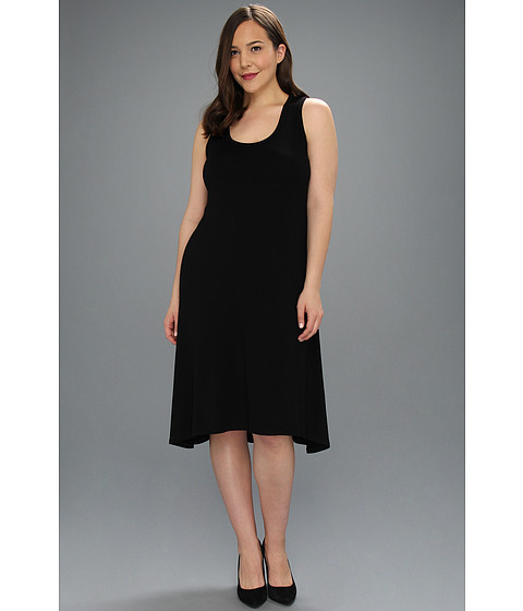 Rochii Karen Kane - Plus Size Extended Back Hem Dress - Black