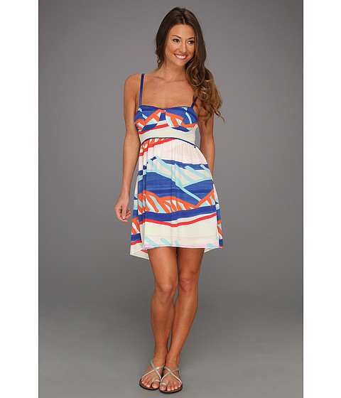 Rochii Roxy - Buried Shell Dress - Deep Ultramarine Print