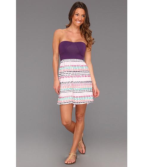 Rochii Roxy - Savage 2 Dress - Sea Salt Stripe