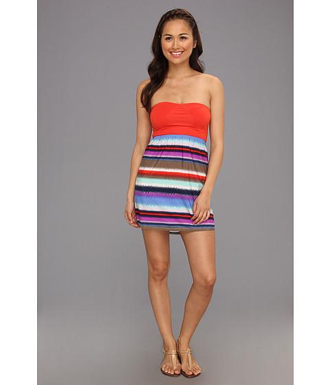 Rochii Roxy - Savage 2 Dress - Sea Spray Toothy Printed Stripe