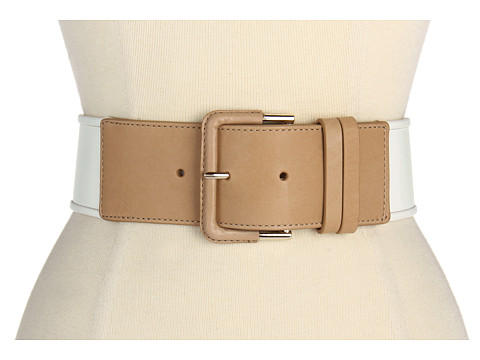 Curele Cole Haan - French Bound Belt - Optic White