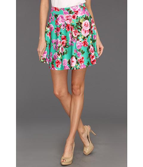 Pantaloni Gabriella Rocha - Jeanne Floral Print Flare Skirt - Green