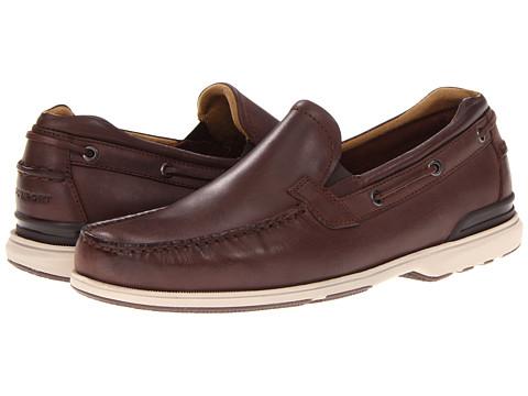Pantofi Rockport - Off The Coast Venetian - Dark Brown