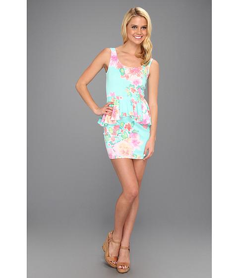 Rochii Brigitte Bailey - Izzie Floral Peplum Dress - Mint