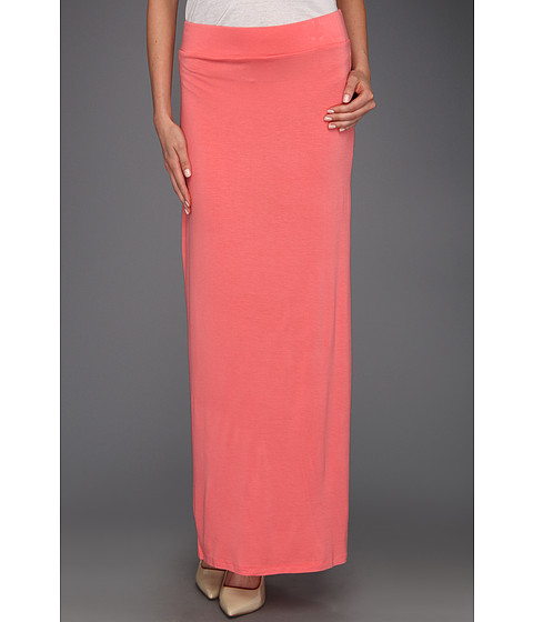 Fuste Culture Phit - Ciana High Waisted Maxi Skirt - Coral