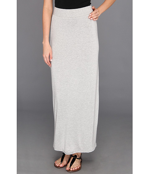 Fuste Culture Phit - Ciana High Waisted Maxi Skirt - Heather Grey