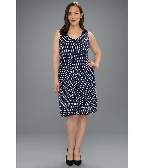 Rochii Karen Kane - Plus Size Tank Dress - Print