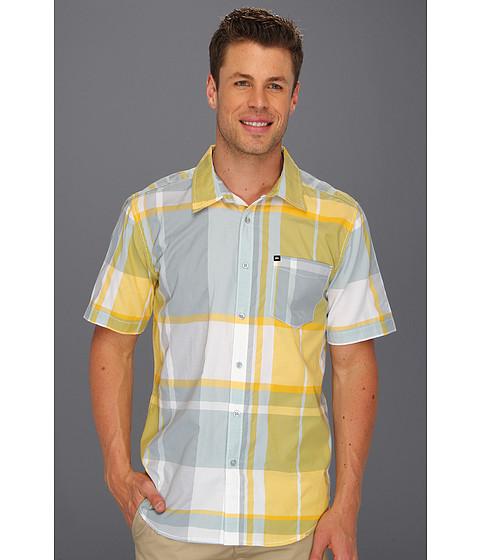Camasi Quiksilver - Poker Hand S/S Shirt - Beach Gray