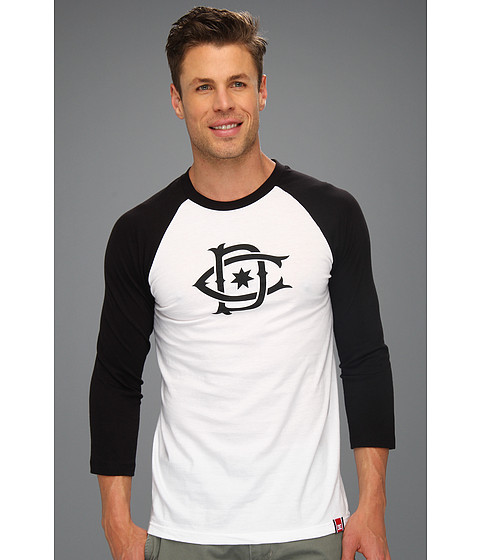 Tricouri DC - Rob Dyrdek Ripper Raglan Shirt - Black/White