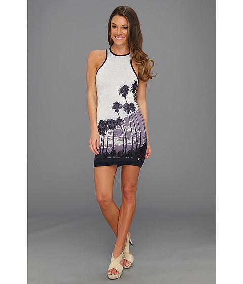 Rochii Juicy Couture - Sunset Palms Jacquard Dress - Regal Combo