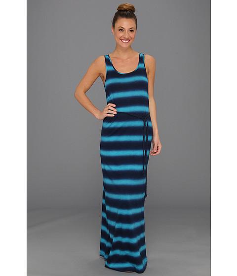 Rochii Lucky Brand - Stevee Spray Tie Dye Maxi Dress - Blue Multi