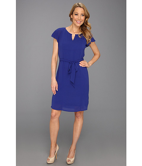 Rochii Vince Camuto - Tunic W/Flared Shoulders Dress - Cobalt