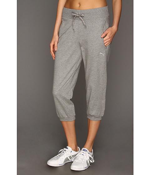 Pantaloni PUMA - Capri Sweat Pant - Athletic Gray Heather