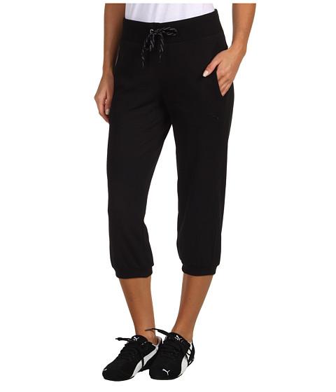 Pantaloni PUMA - Capri Sweat Pant - Black
