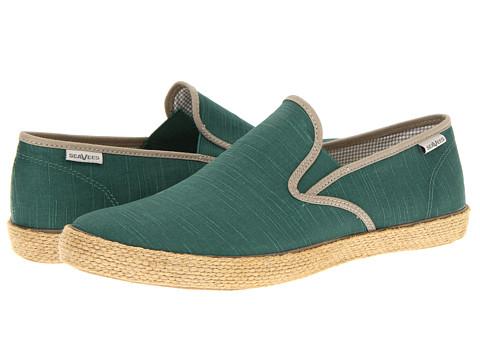 Pantofi SeaVees - 02/64 Baja Slip On Beetles - Ceramic Green/Fontana Grey