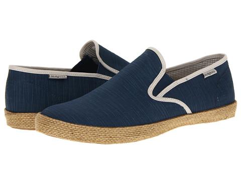 Pantofi SeaVees - 02/64 Baja Slip On Beetles - Gulf Blue/Alabaster